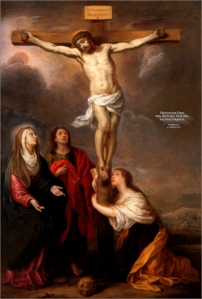 Christ on the Cross by Murillo
