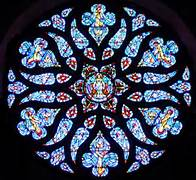 The Rose Window at All Souls Church, Bangor