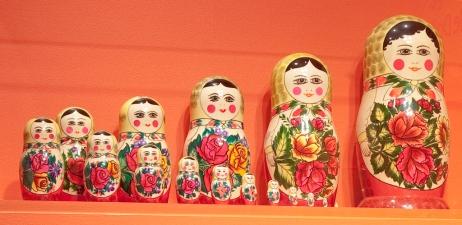 Matroyshka-Semenov-Dolls