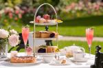 the-goring-hotel-london-celebrating-National-Afternoon-Tea-week-on-our-terrace-with-some-tasty-treats-and-a-glass-of-Bollinger