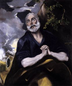 St. Peter in Penitence, El Greco, 1580s